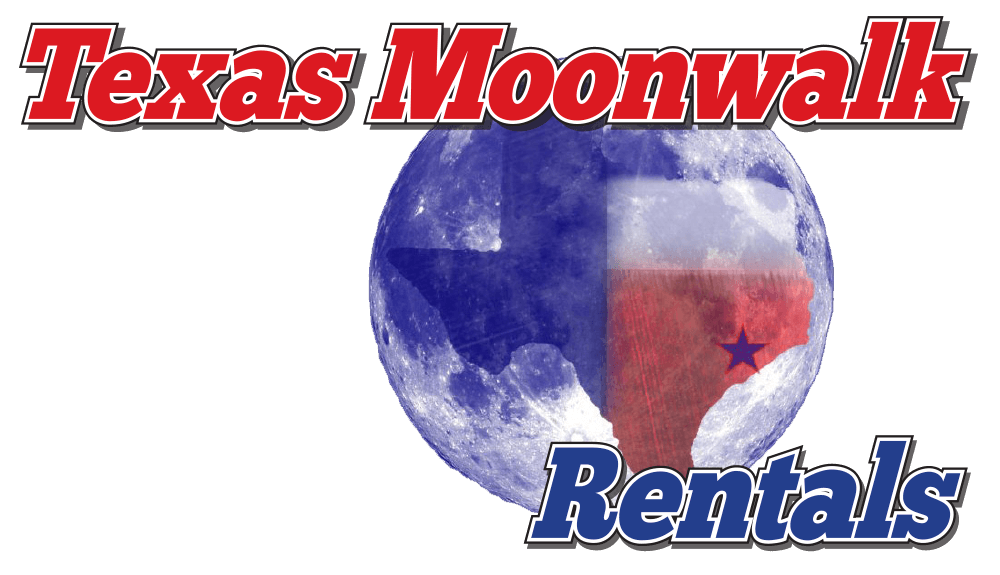 Texas Moonwalk Rentals Logo