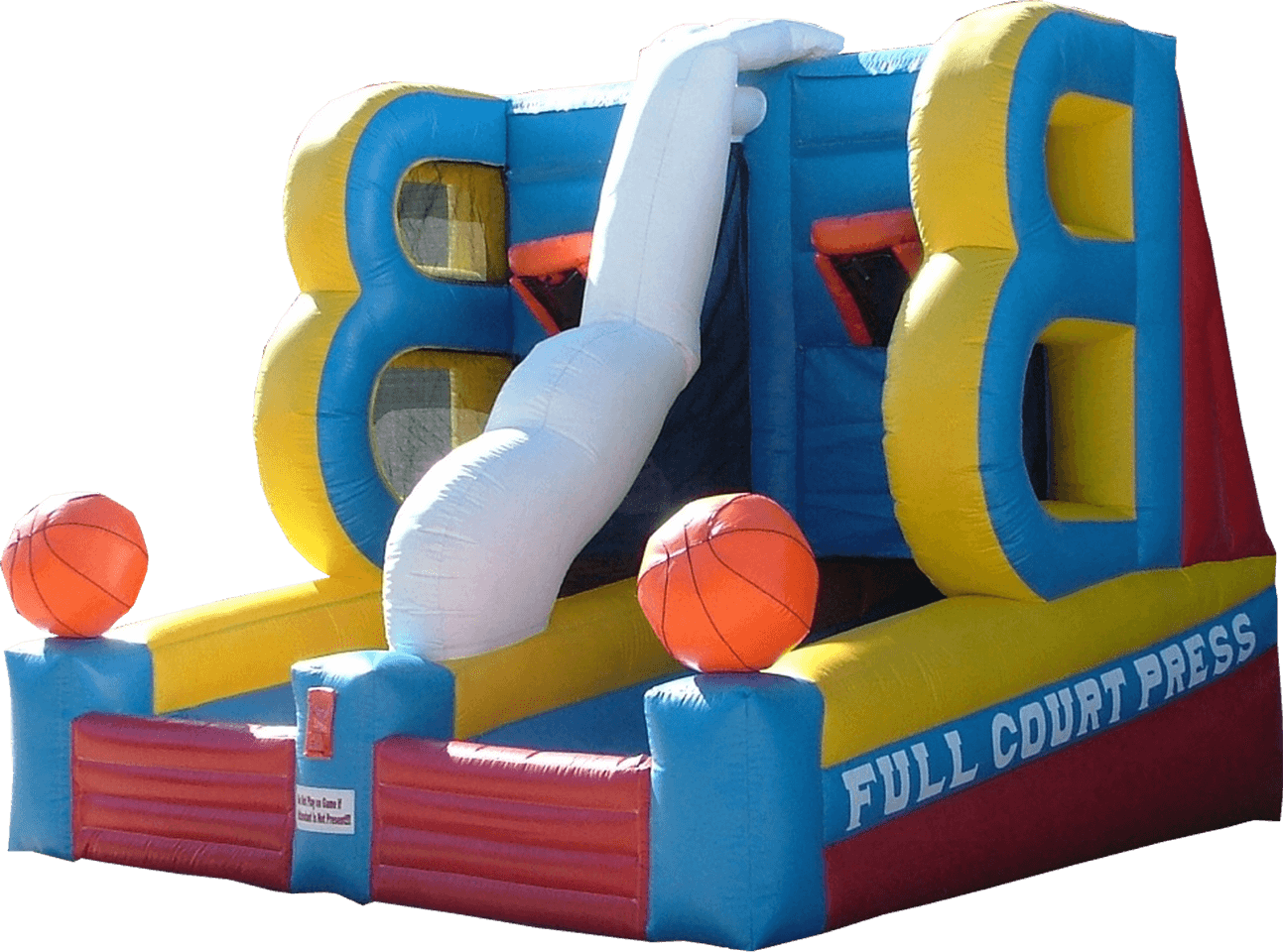 Basketball Rapid Fire Inflatable