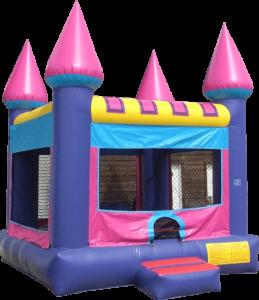 Pink Purple Castle Bouncer