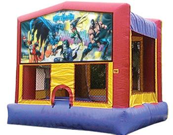 Batman Banner Theme for Bounce Houses