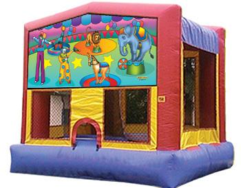 Circus Banner Theme for Bounce Houses