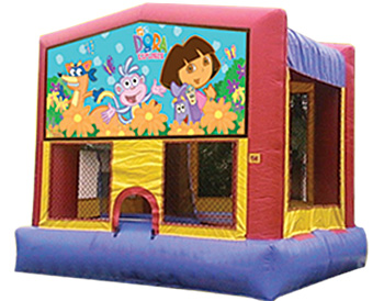 Dora the Explorer Banner Theme for Bounce Houses