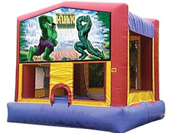 Incredible Hulk Banner Theme for Bounce Houses