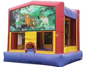 Jungle Book Banner Theme for Bounce Houses