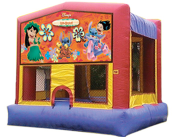 Lilo & Stitch Banner Theme for Bounce Houses