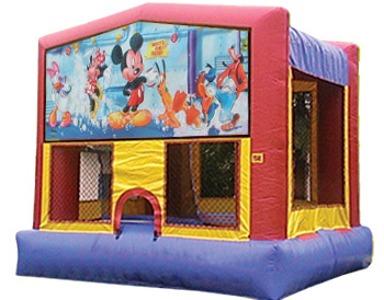 Mickey Mouse Banner Theme for Bounce Houses