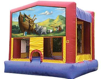 Noah's Ark Banner Theme for Bounce Houses