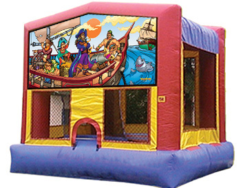 Pirates Banner Theme for Bounce Houses