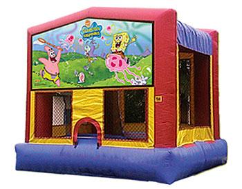 Sponge Bob Banner Theme for Bounce Houses
