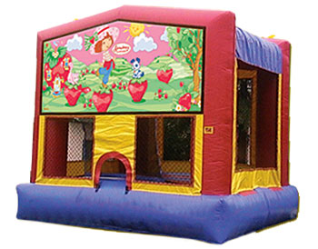 Strawberry Shortcake Banner Theme for Bounce Houses