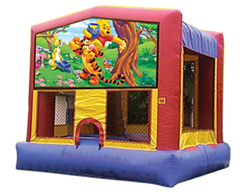 Winnie the Pooh Banner Theme for Bounce Houses